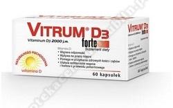 Vitrum D3  Forte kaps. 60 kaps.
