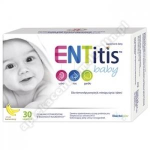 ENTitis Baby sm. bananowy prosz. 30sasz.