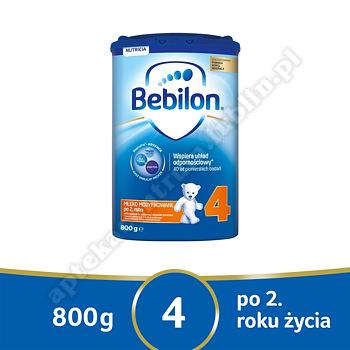 Bebilon Junior 4 z Pronutra-ADVANCED  800g data ważności 09. 07. 2020