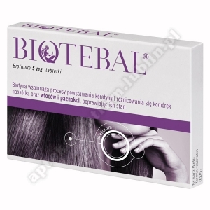 Biotebal tabl. 5 mg 60 tabl.