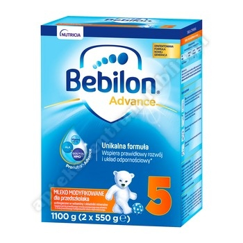 Bebilon Junior 5 z Pronutra-ADVANCED 1200g 1  ostatnie op.