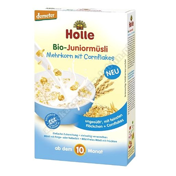 HOLLE KASZKA JUNIOR CORN FLAKES 250G