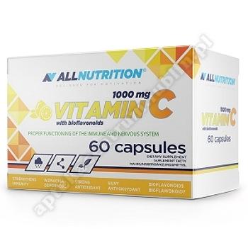 Allnutrition Vitamin C 1000mg with bioflanoids   60 kaps.