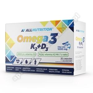 Allnutrition Omega 3 K2+D3 kaps. 30 kaps.