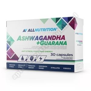 Allnutrition Ashwagandha+Guarana kaps. 30 kaps.