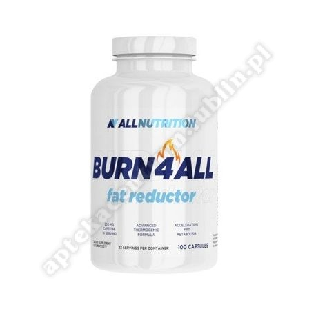 Allnutrition Burn4all fat reductor kaps. 100 kaps.