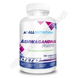 Allnutrition Ashwagandha forte kaps.  90kap
