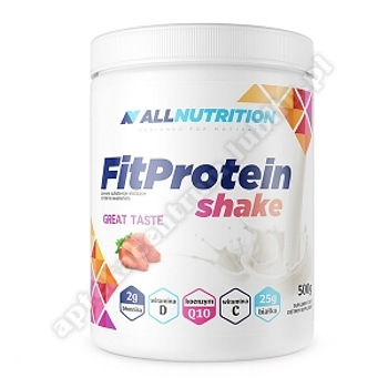 Allnutrition FitProtein Shake strawberry proszek 500 g