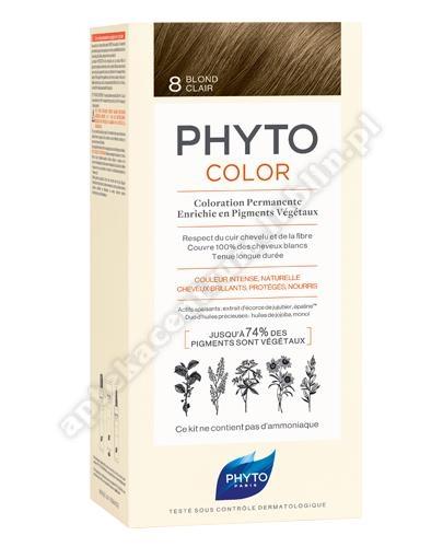 PHYTO Farba d/wł. Jasny Blond 50 ml-nr 8