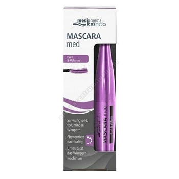 Mascara Med CURL & VOLUME tuszd/rzęs 7 ml