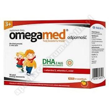 Omegamed Odporność 3+ Płyn w saszetkach 30