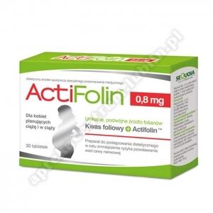 ActiFolin 0,8 mg tabl. 30 tabl.