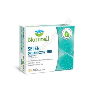 NATURELL Selen Organiczny 100 mcg  100tab