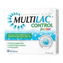 Multilac Control Junior kaps. 15 kaps.