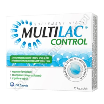 Multilac Control kaps. 15 kaps.
