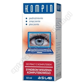 Kompin krople do oczu 10 ml