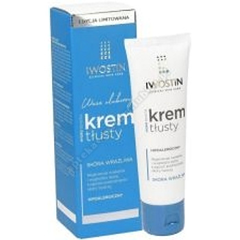 IWOSTIN HYDRO SENSITIA Krem tłusty 50ml