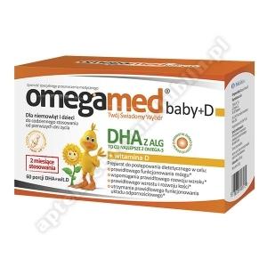 Omegamed Baby+D 0+ kaps.twistoff 60kaps.