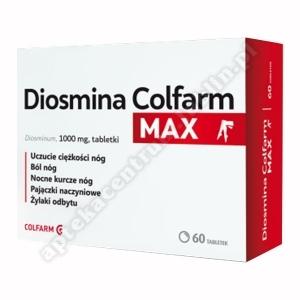 Diosmina Colfarm Max tabl.  1 g 60 tabl.