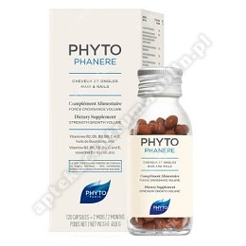 Phytophanere Kaps.wzmacniające włosy i paznokcie 120 kaps.