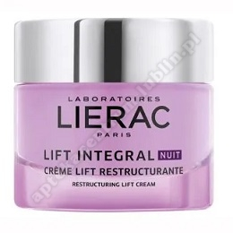 LIERAC LIFT INTEGRAL Restrukturyzujacy Krem 50ml+LIERAC HYDRAGENIST Mgiełka ultranawil.30ml