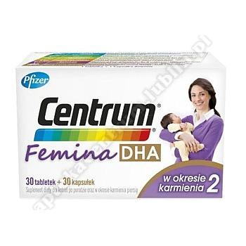 Centrum Femina 2  DHA w okresie karmienia (30+30 )