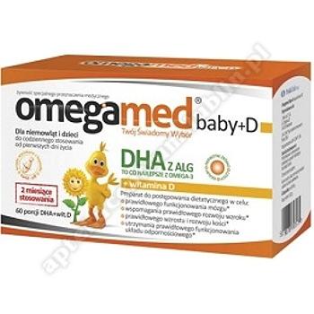 Omegamed Baby+D kaps. twistoff 30 kaps. -d. w.  2020. 08. 31