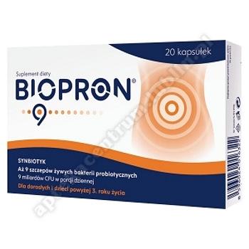 Biopron 9 kaps. 20 kaps.