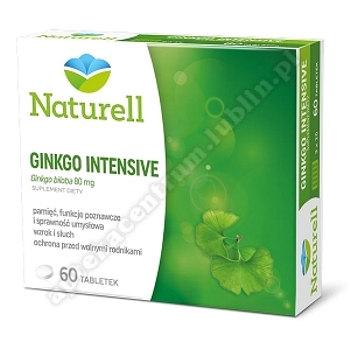 NATURELL Ginko Intensive tabl. 60 tabl.
