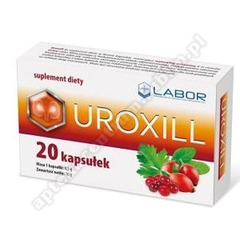 Uroxill kaps. 20 kaps. (blistry)