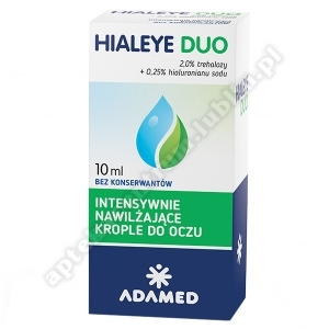 HIALEYE DUO krop.do oczu 10 ml