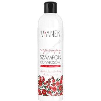 VIANEK Regenerujący szampon do włosów ciemnych, farbowanych