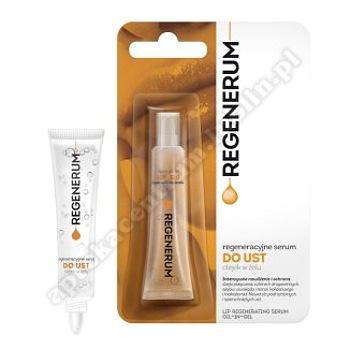 REGENERUM regeneracyjne Serum do ust, olejek w żelu  7 g