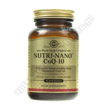 SOLGAR NUTRI-NANO CoQ-10 kaps. 50 kaps.