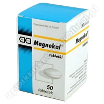 MagnoKal Asparaginian tabl. 0,25g+0,25g 50