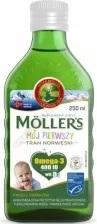 Mollers Mój Pierwszy Tran Norweski płyn  od 4 tygodnia życia 250ml