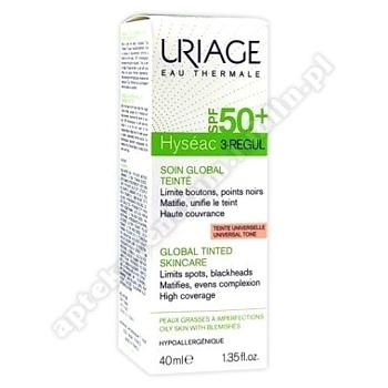 Uriage Hyseac 3-Regul SPF50+ Krem 40ml