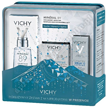 VICHY XMAS 2019 BOOSTER MINERAL 89+Vichy Liftactiv Supreme norm.i  miesz. 15ml + Liftactiv serum 3ml