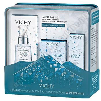 VICHY XMAS 2019 BOOSTER MINERAL 89 + Vichy Aqual. thermal 15 ml+ Vichy aqualia serum 3 ml