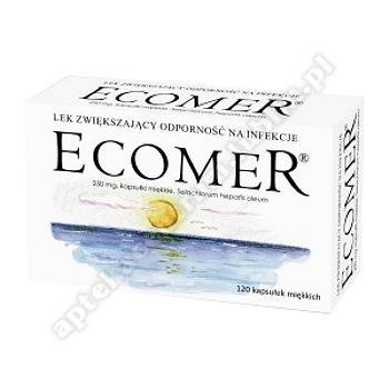 Ecomer kaps.miękkie rodzaj-lek  0,25 g 120 kaps.
