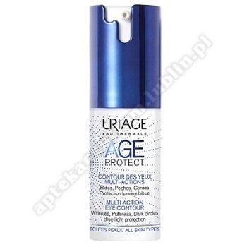 URIAGE AGE PROTECT Krem d/skóry wokół oczu 15 ml+Uriage Woda micelarna do sk.norm.250ml