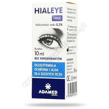 HIALEYE FREE 0,2% 10 ml