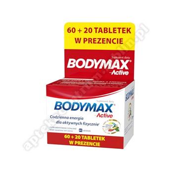 Bodymax Active 60+20 tabl. 80tabl.(60+20tabl.)