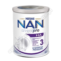NESTLE NAN OPTIPRO H.A 3  Mleko 800g