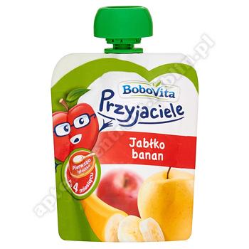 BoboVita Przyjaciele Jabłko/banan 80 g