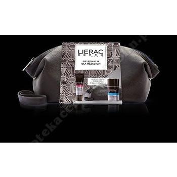 LIERAC HOMME Żel p/oczy p/zmar.+Dezodorant