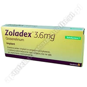 Zoladex implantpodskórny 3,6mg 1amp.strz.