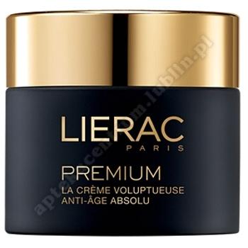 LIERAC PREMIUM Odżywczy Krem przeciwstarzeniowy, dla skóry suchej, 50ml