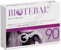 Biotebal tabl. 5 mg 90 tabl.
