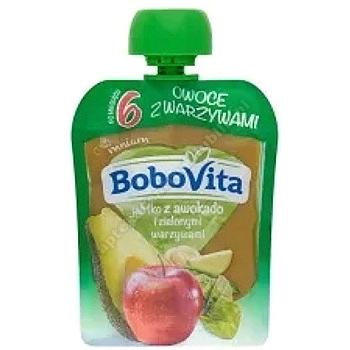 Bobovita jabłko z awokado i zielonymi warzywami 80g